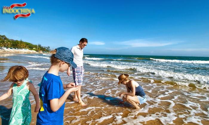La playa Muine