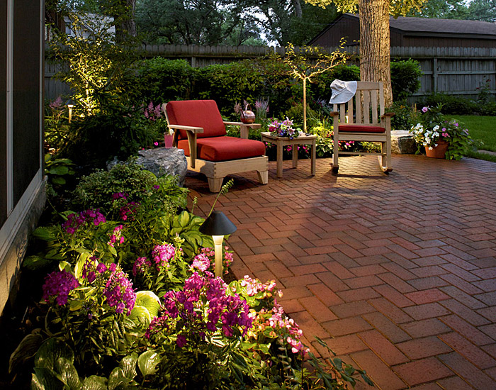 garden patio designs photographs