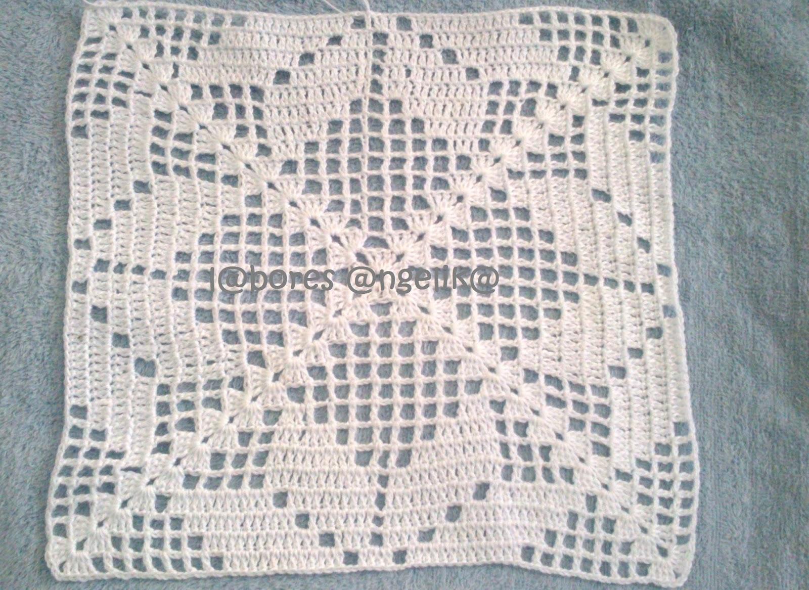 Puntadas para mantel en gancho patrones gratis de - Mantel de crochet ...