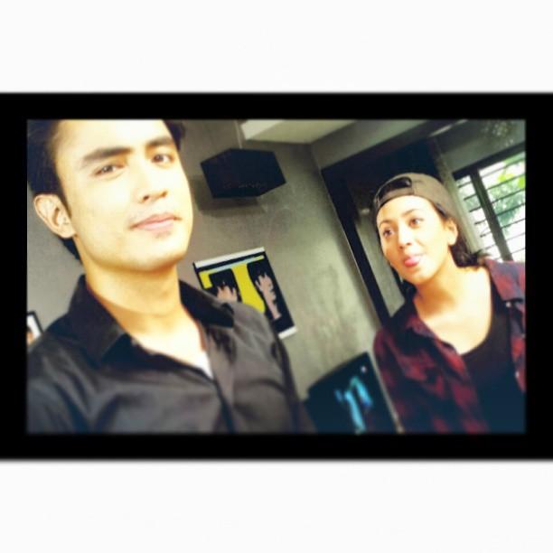Diandra dan Adam Fahmy