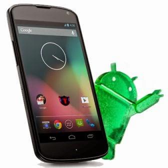 Google gulirkan update Android Lollipop untuk Nexus 4