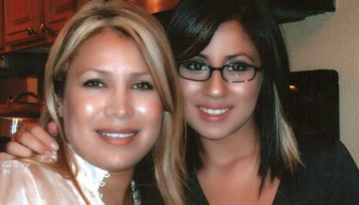Víctima de violación Lianna Rebolledo y su hija