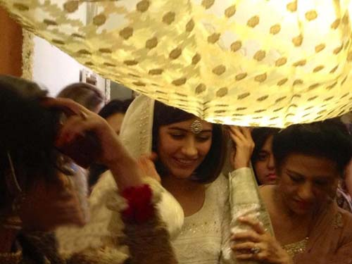 Syra Yousuf and Shehroz Sabzwari Wedding/Nikkah Pictures