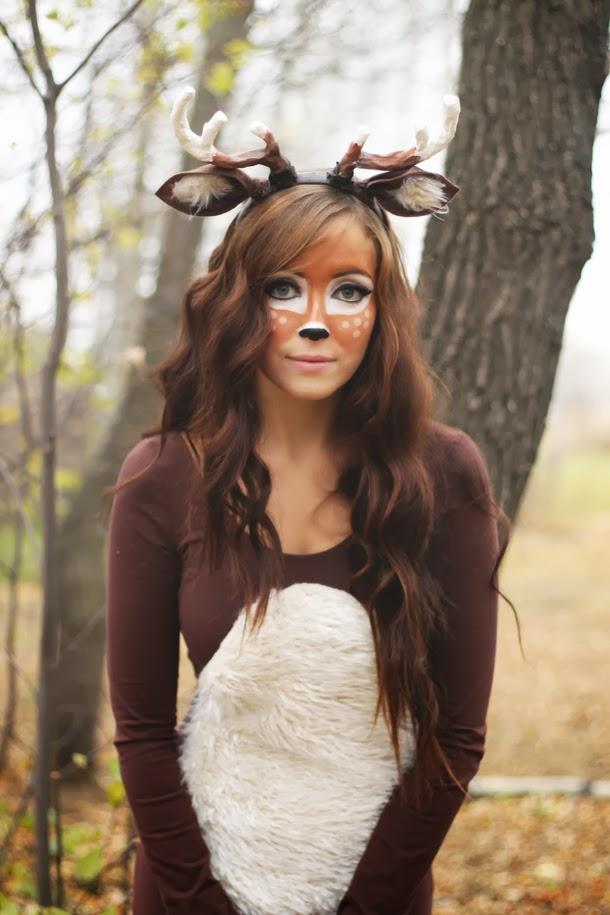 flattery deer halloween costume tutorial. Black Bedroom Furniture Sets. Home Design Ideas