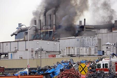 General Motors fire