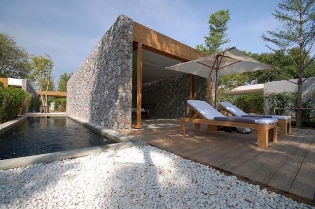 Cesar gallardo vela arquitectos - Casas madera y piedra ...