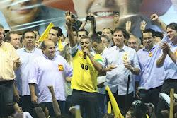 """""""Dia 28, faça um golaço e vote no 40"""", (Romário)"""