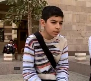 طفل مصري نابغة يلتحق بكلية الرياضيات