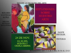 Invitacion muestra REFLEXIONES