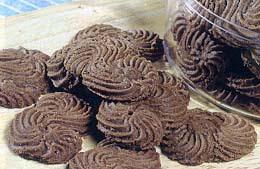 Kue Kering Sagu Coklat Lebaran