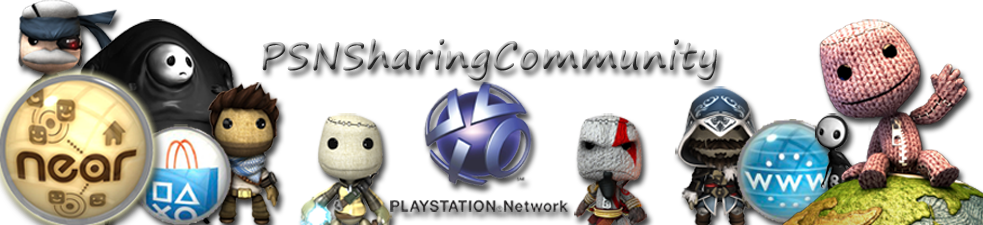PSN Sharing Community&#39;s Blog