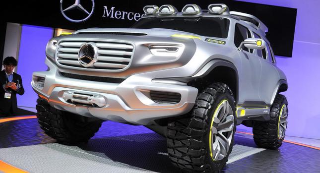 Mercedes Benz Ener G Force Interior