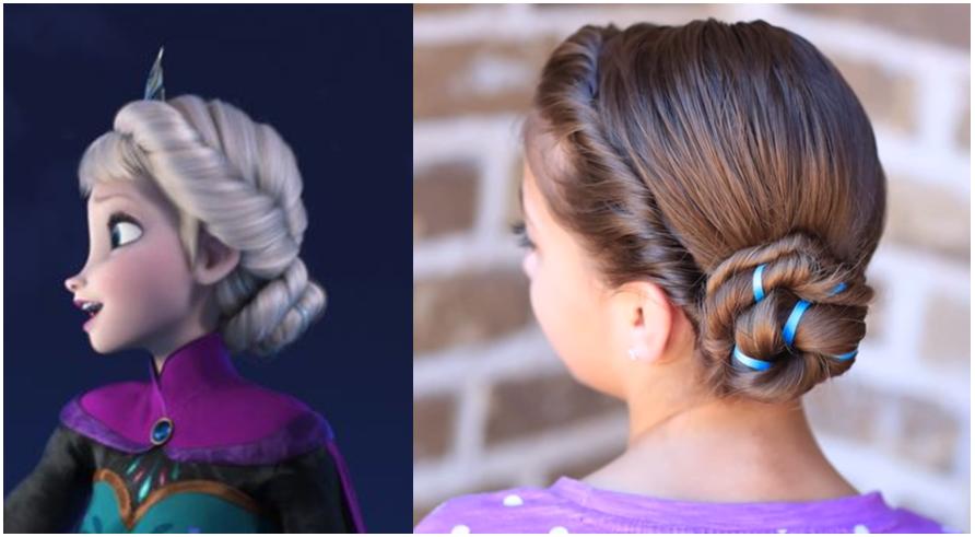 Peinado facil y Elegante para fiesta YouTube - Peinados De Fiesta Elegantes