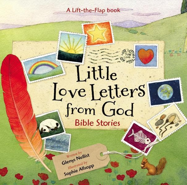 Little Love Letters From God By Glenys Nellist Childrens