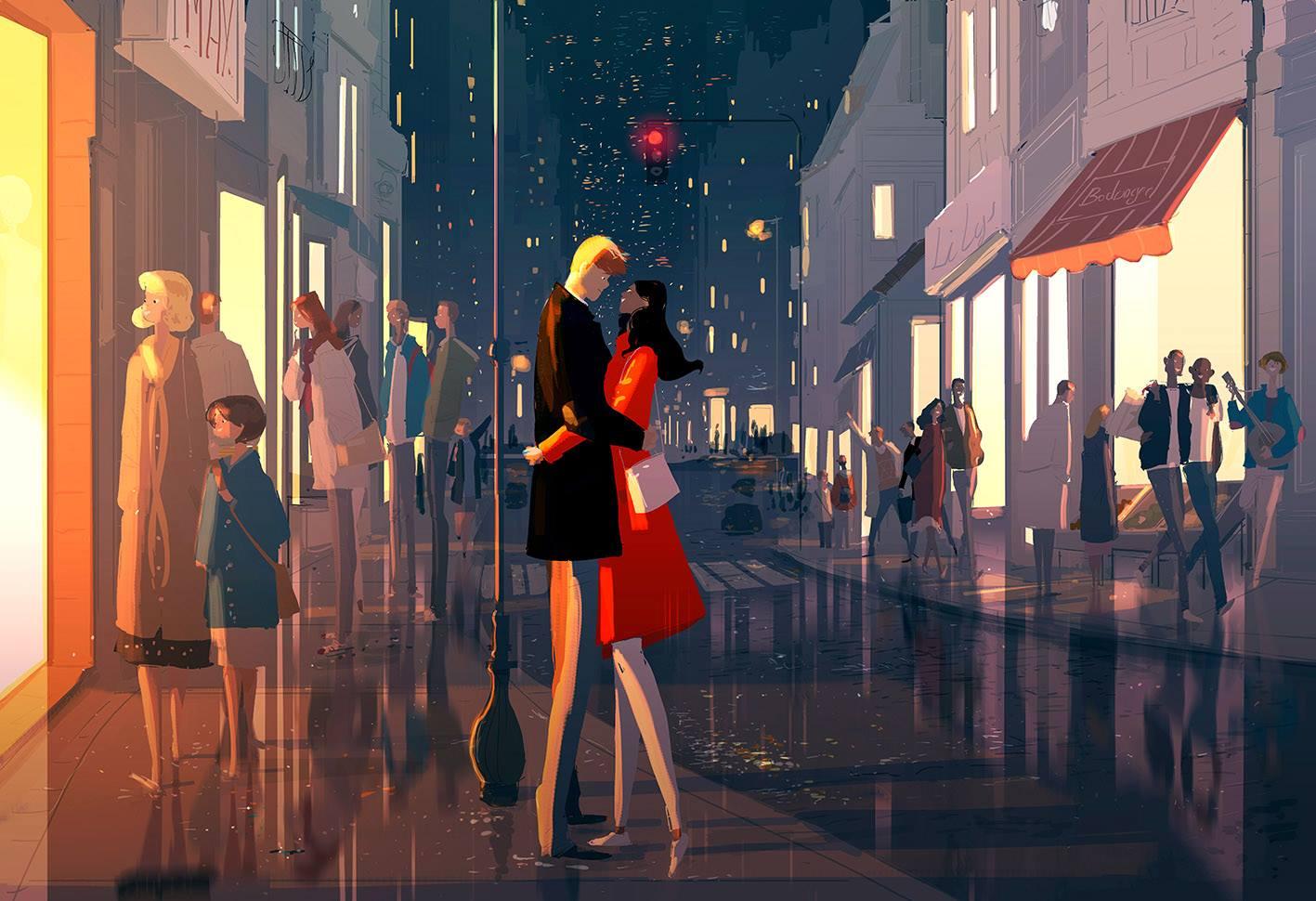 Ilustrações incríveis de Pascal Campion
