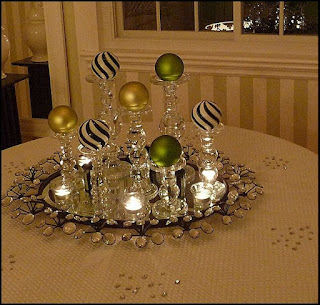 Decoración Navideña, Esferas de Cristal