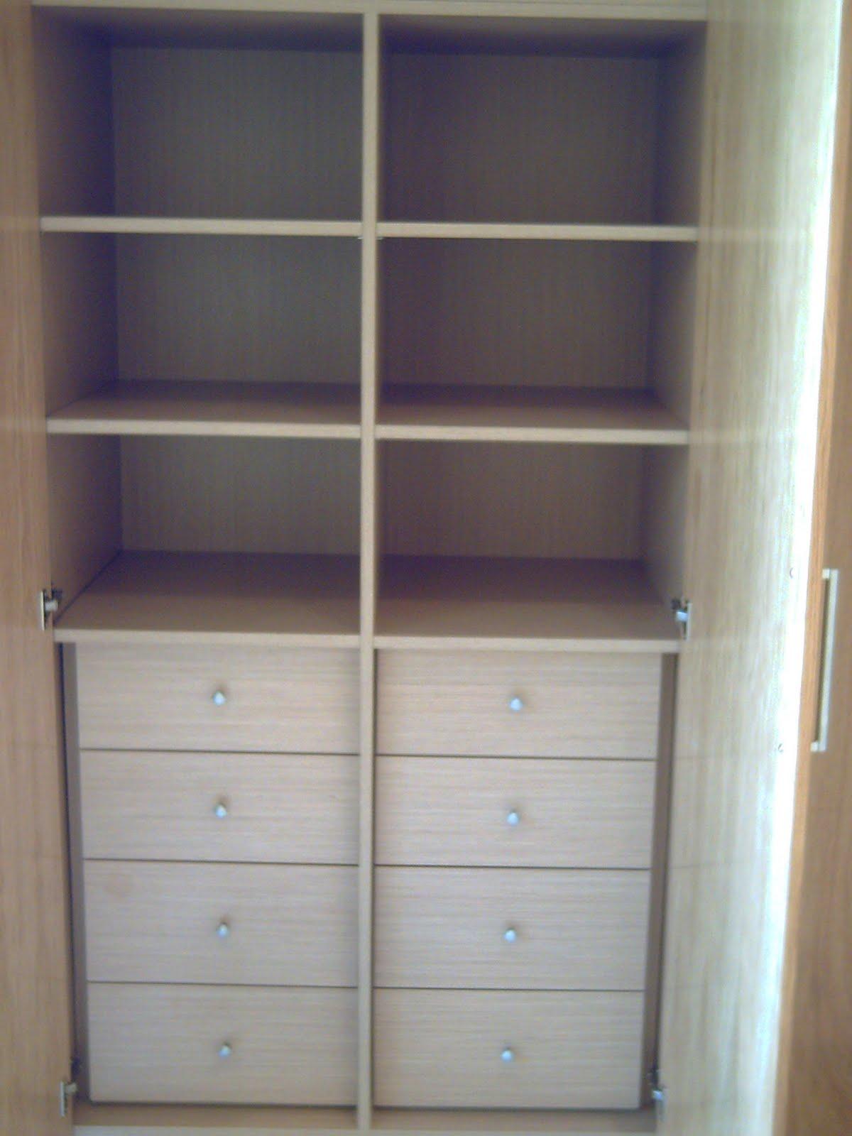 Ca uelo e hijos carpinteria s c p muebles y armarios - Distribuciones de armarios ...