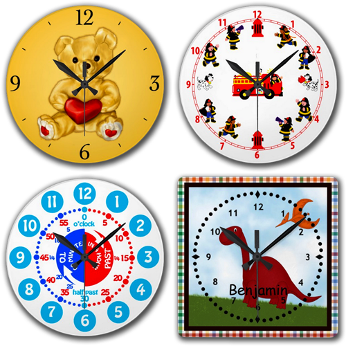 Kids Wall Clocks