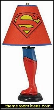 Superman Leg Lamp