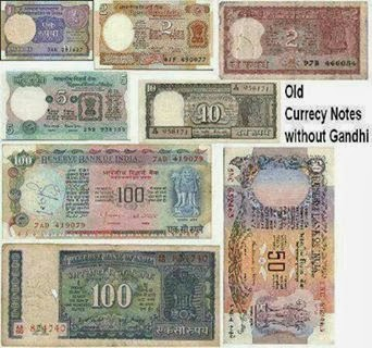 Old Notes Without Gandhi Ji