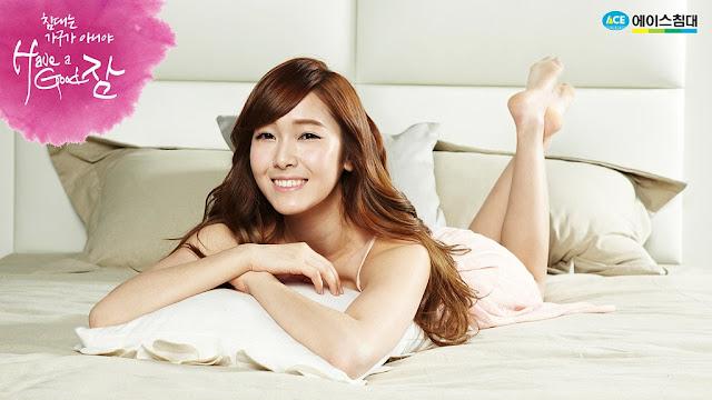 少女時代床上寢具代言廣告 - 潔西卡(제시카)潔西卡