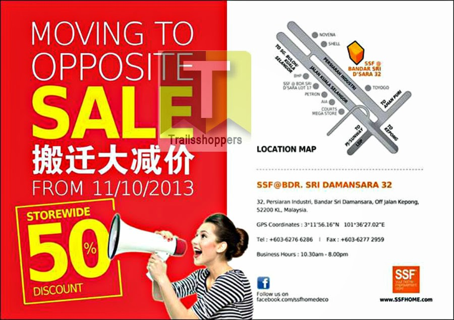 SSF Moving To Opposite Sale 2013