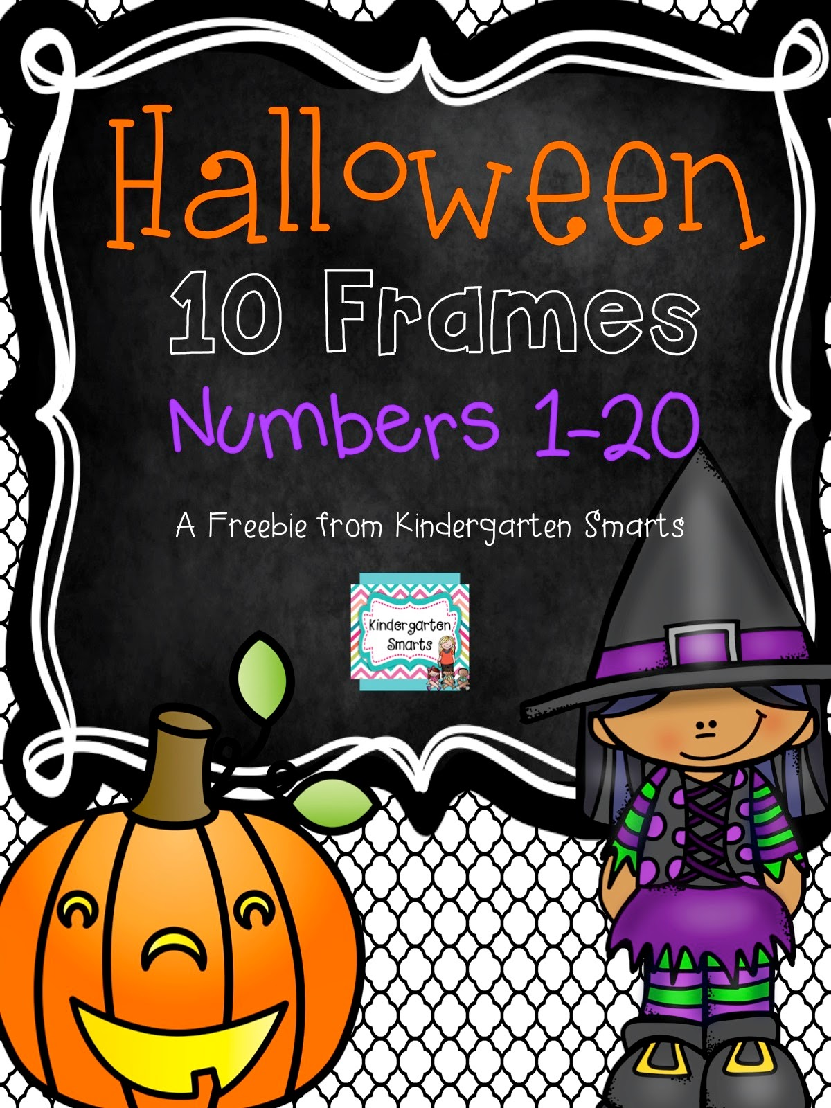 http://www.teacherspayteachers.com/Product/Halloween-10-Frame-Math-Center-1490518