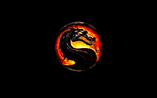Mortal Combat Dragon Logo Flaming Circle HD Wallpaper