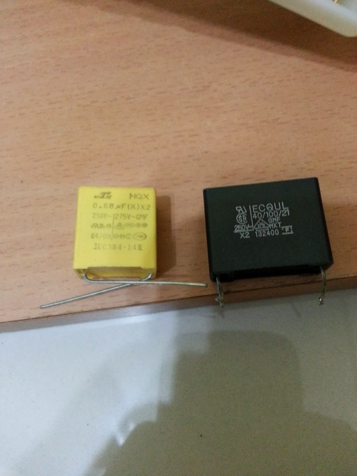 Step 4 Replace And Solder In The New Capacitor