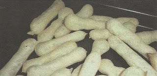 Biscoito de polvilho com coco