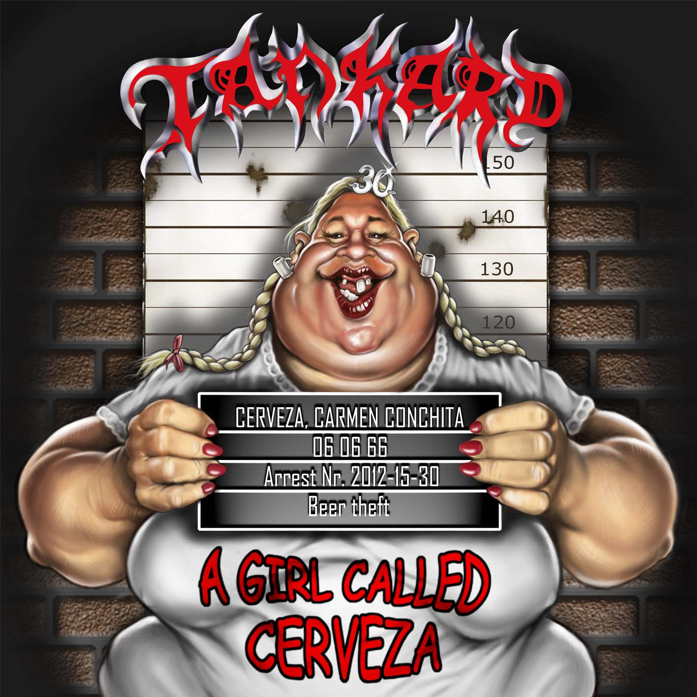 Tankard, A Girl Called Cerveza