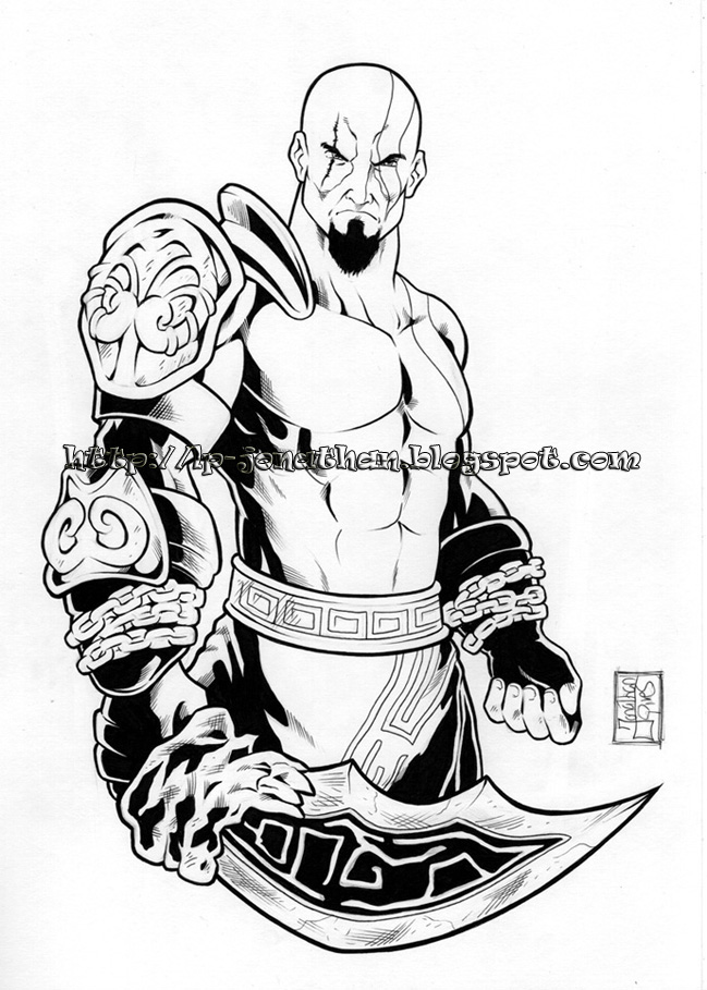 god of war coloring pages - photo#28