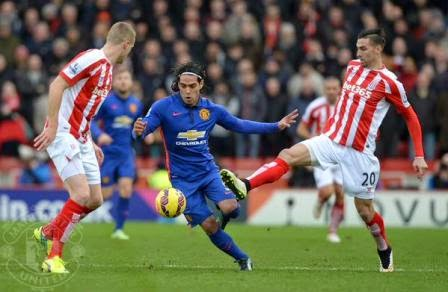 Stoke City vs Manchester United 2015 Video
