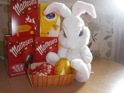 Milky Bunny Easter Eggs