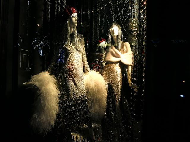 NYC, Champagne, Disco, Bergdorf goodman
