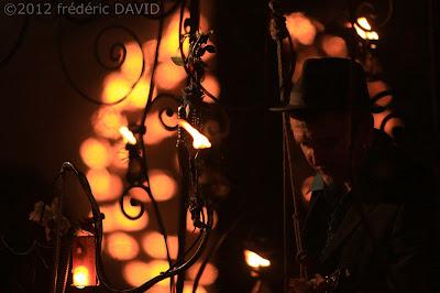 spectacle feu noctambules musique cie carabosse La Rose Chamarande Essonne