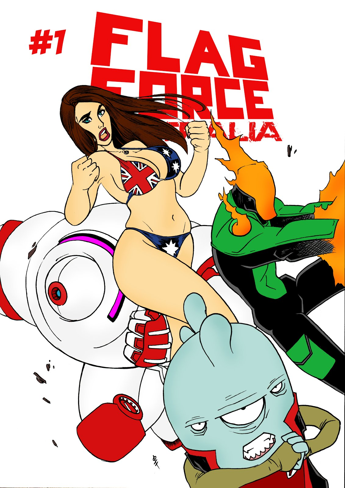 Flag Force Australia #1