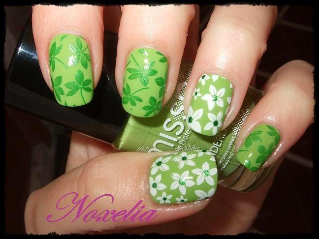 Noxelia: Stamping nail art: Colaboración con BornPrettyStore XLII y ...
