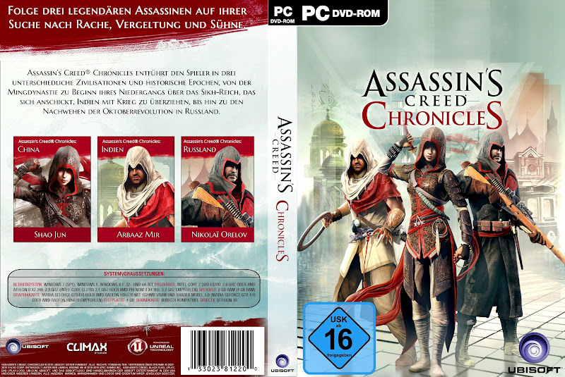 Capa Assassins Creed Chronicles PC