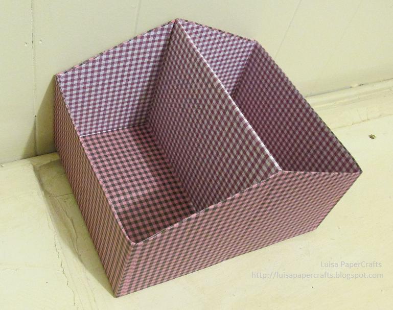 Luisa papercrafts organizador con caja de zapatos - Decorar cajas de zapatos ...