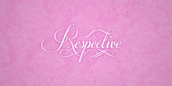 35 Font Script untuk Desain grafis - Respective