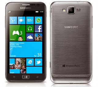 Samsung Ativ S GT-I8750 Windows Phone 8 Harga dan Spesifikasi