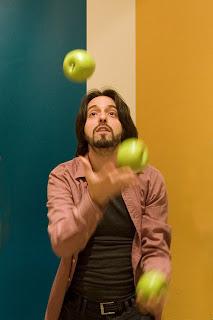 malabares, manzanas