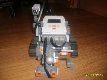 El robot de ataque (Modulo cañon) H