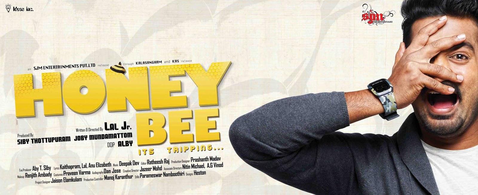 [Image: Honey+Bee+Malayalam+Movie+Poster.jpg]