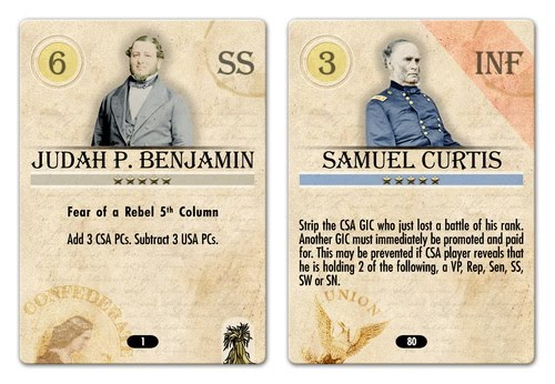 News Intriguing Civil War Board Game Factors In Lincoln s and Davis Politics Civil War Librarian