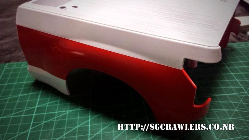 tamiya - Boolean21's Tamiya Highlift Tundra - new paint scheme - Ivan Stewart Toyota Theme 20140801_194533