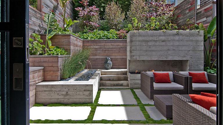 Casas minimalistas y modernas mayo 2013 for Decoracion de patios modernos