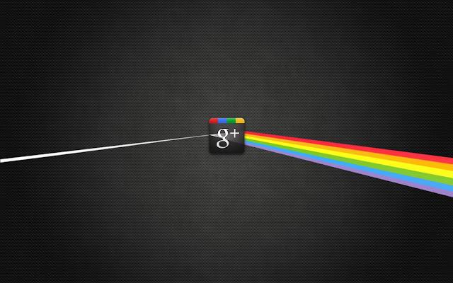 Google plus light spectrum textured wallpaper