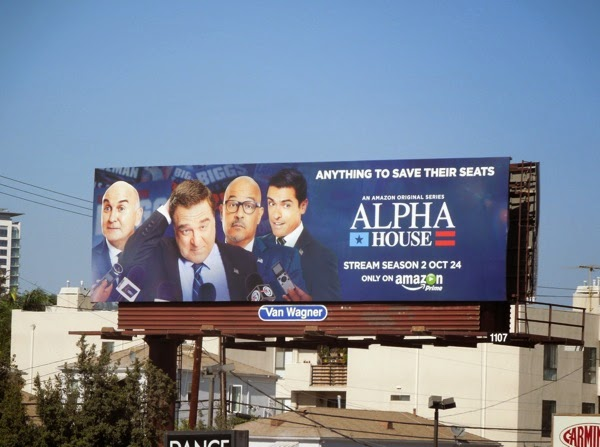 Alpha House season 2 Amazon billboard